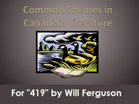 the theme of survival in canadian literature Would be that of canadian literature to british literature on the one hand, and to  french  theme of the québec family and the roles of its members, through her   procedure applied sketchily in margaret atwood's tour de force, survival as.